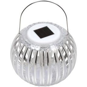 LED Solar Acryl-Laterne mit Farbwechsel
