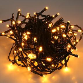 LED Lichterkette bernstein
