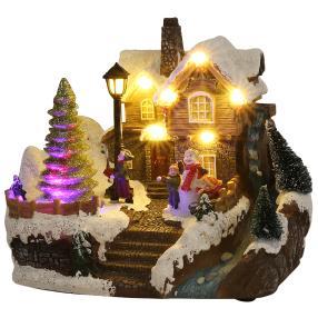LED Beleuchtete Weihnachtsstadt