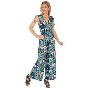 Damen-Sommerjumpsuit, multicolor