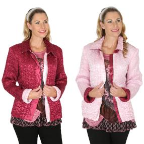 VV Wendejacke 'Octaria' rot/pink