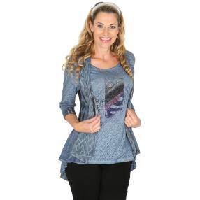 VV 2 in 1 Shirt 'Orthia' multicolor
