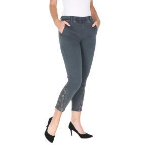VV Jeans 'Oliena' verziert, dunkelgrau
