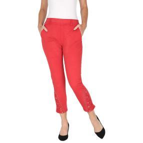 VV Jeans 'Olegia' verziert, dunkelrot