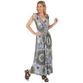 Damen-Sommerkleid, Onesize (36-46) multicolor