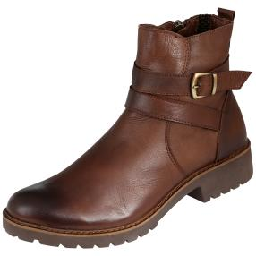 CALVIN SMITH Lederstiefeletten