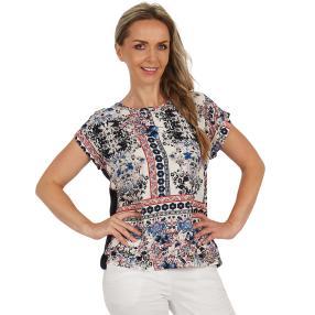 Damen-Shirt 'Corralejo' multicolor