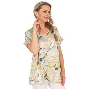 Damen-Longshirt 'Jandia' multicolor