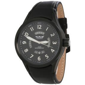 Wave London Herrenuhr schwarz schwarz WL0145-A
