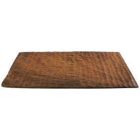 Dekoteller rechteckig graviert 2er-Set 20x40 cm