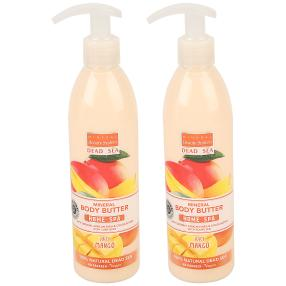 MINERAL Beauty System Body Butter Mango 2x 300 ml