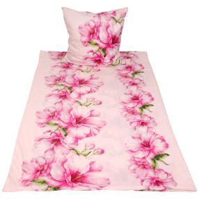 WinterDreams Bettwäsche 2tlg. Blumen rosa