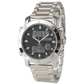 "Kenneth Cole Herren-Chronograph ""Reaction"" silber"