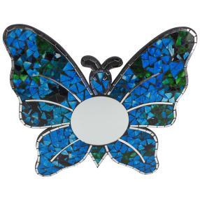 Mosaik Spiegel Schmetterling 40 cm