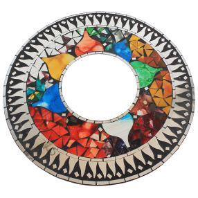 Mosaik Spiegel Sonne Blume 40 cm