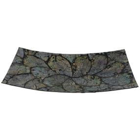 Muschel Schale rechteckig Abalone 36x17 cm