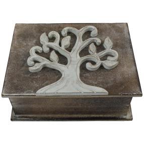 Box Motiv Buch Albesiaholz