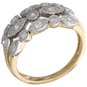 Ring 585 Gelbgold Diamanten