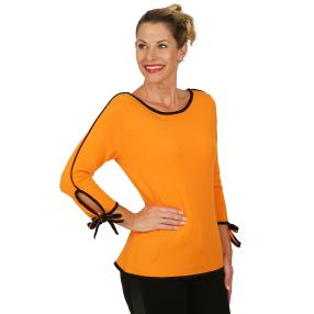 mocca by Jutta Leibfried Pullover orange