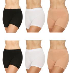 COSY COMFORT 6er Pack Panty schwarz/weiß/haut