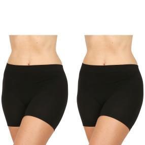 COSY COMFORT 2er Pack Panty schwarz