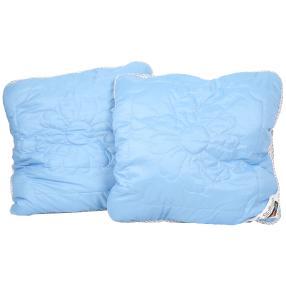 Stoffhanse Kissen 80 x 80 cm, 2er Set blau