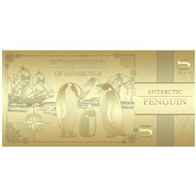 Goldbanknote Pinguin