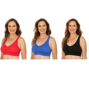 COSY COMFORT 3er Pack BH multicolor