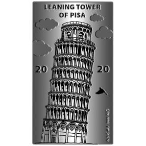 WGB Schiefer Turm, 0,5 Gramm