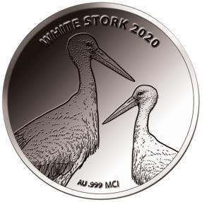 WGK Weißstorch, 0,33 Gramm