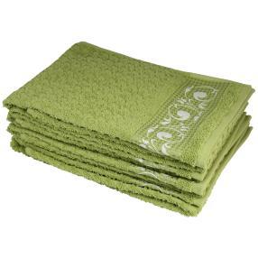 Handtuch 4tlg. olivgrün