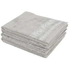 Handtuch 4tlg. Ranke grau