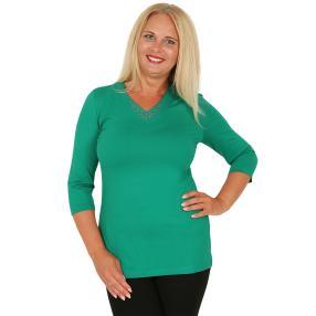 RÖSSLER SELECTION Damen-Shirt dunkelgrün