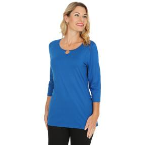 RÖSSLER SELECTION Damen-Shirt blau