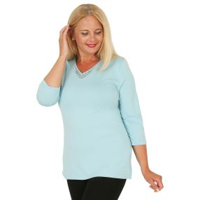 RÖSSLER SELECTION Damen-Shirt bleu