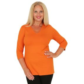 RÖSSLER SELECTION Damen-Shirt orange