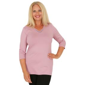 RÖSSLER SELECTION Damen-Shirt mauve