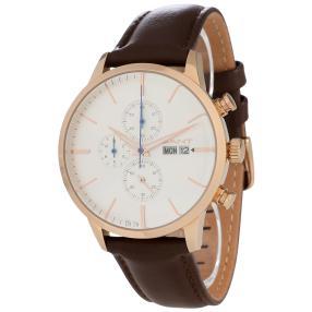 GANT Herren-Chronograph braun, weiß