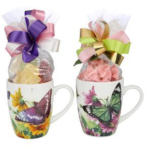 Tasse Motiv Schmetterling 2er
