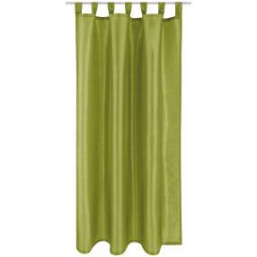 Dekoschal mit Schlaufen grün 140x245cm