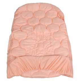 Stoffhanse Unterbett 100x200cm apricot