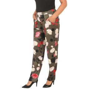 CANDY CURVES Weite Palazzo-Hose multicolor