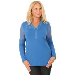 CANDY CURVES Shirt blau