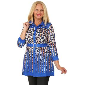 CANDY CURVES Longbluse multicolor