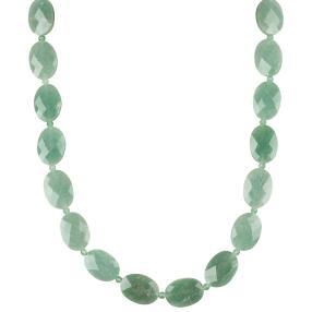 Collier Aventurin grün, ca. 50 + 5 cm