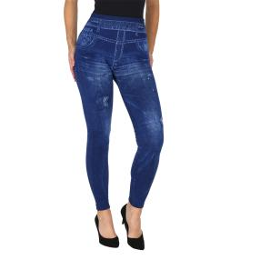FASHION NEWS  Seamless-Jeansleggings  blau