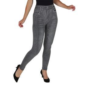 FASHION NEWS  Seamless-Jeansleggings  grau