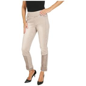 VIVACE Jeans 'Eva' verziert beige
