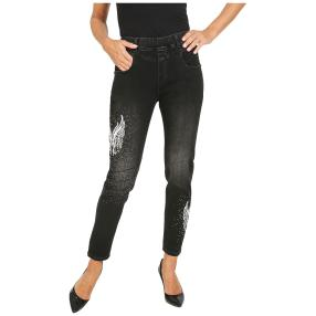 VV Jeans 'Kyra' verziert schwarz