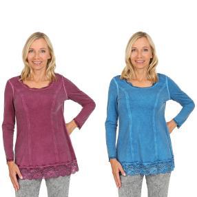 VV 2er Pack Shirt 'Thalia' beere & blau